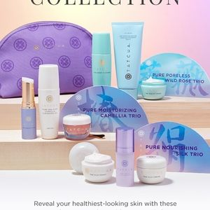 Tatcha Makeup - BNIB LE Tatcha Pure Camellia Trio W/Bag! 2 Fullsiz